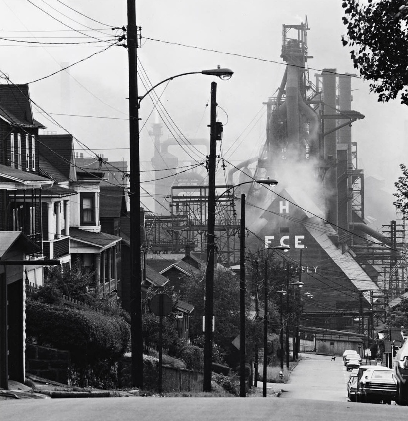 Bethlehem Steel Johnstown, David Plowden, 1975